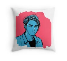 gerard way Throw Pillow
