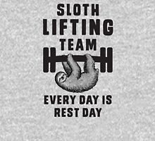 Sloth lifting team - every day is rest day Unisex T-Shirt