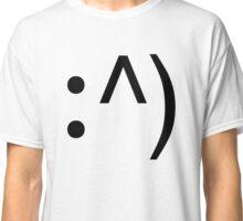 Geek Code Face Button Classic T-Shirt