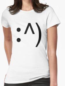 Geek Code Face Button Womens Fitted T-Shirt