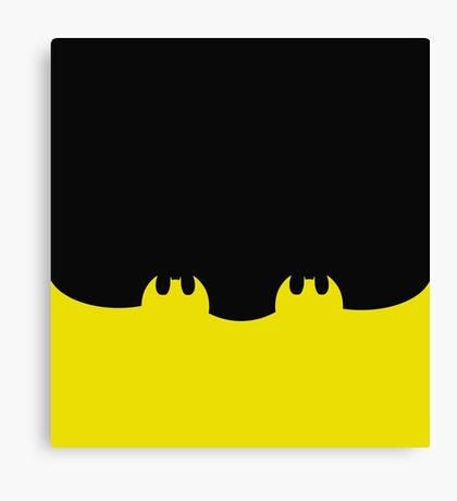 Bat Leggings Black Canvas Print
