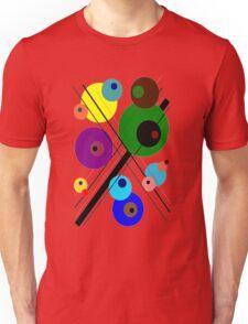 lignes et des cercles #1 Unisex T-Shirt