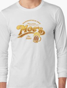 Moe's Tavern Long Sleeve T-Shirt