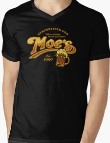 Moe's Tavern Mens V-Neck T-Shirt