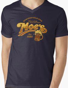 Moe's Tavern Mens V-Neck T-Shirt