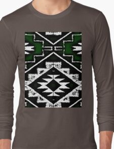Navajo Vintage Green   Long Sleeve T-Shirt