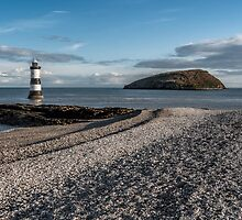 Penmon Lighthouse by Adrian Evans