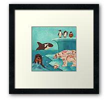 Arctic Wonderland Framed Print