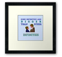 The Fault in Our Stars - Infinities Framed Print