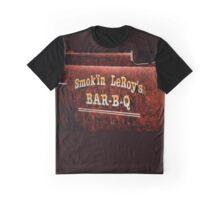 Smoking Leroy Graphic T-Shirt