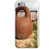 old kettlebell iPhone Case/Skin