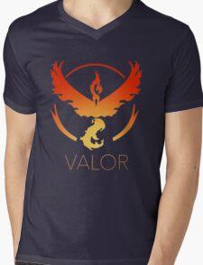 Team Valor (Gradiant) Mens V-Neck T-Shirt