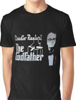 Claudio Ranieri The Godfather Graphic T-Shirt