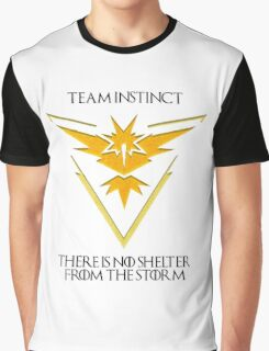 Team Instinct Design - Pokemon GO Graphic T-Shirt