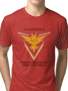 Team Instinct Design - Pokemon GO Tri-blend T-Shirt