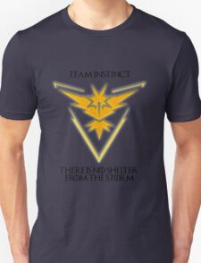 Team Instinct Design - Pokemon GO Unisex T-Shirt