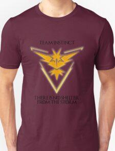 Team Instinct Design - Pokemon GO Unisex T-Shirt