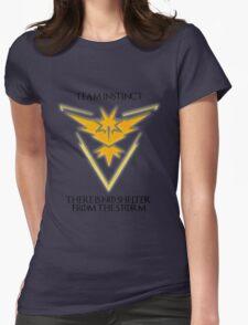 Team Instinct Design - Pokemon GO Womens Fitted T-Shirt
