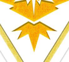 Team Instinct Design - Pokemon GO Sticker
