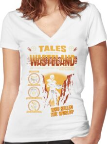 Tales From The Waste Women's Fitted V-Neck T-Shirt