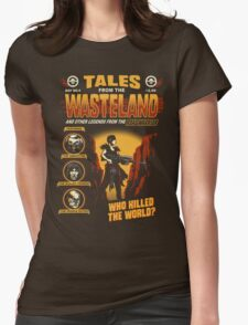 Tales From The Waste Womens Fitted T-Shirt