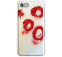 red blood cells ( i ) iPhone Case/Skin
