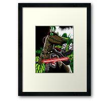 Cyber Raptor Framed Print