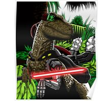 Cyber Raptor Poster
