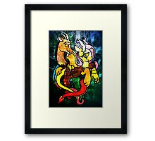 Chaos is Kindness Framed Print