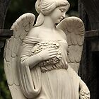 mournful angel  by mrivserg