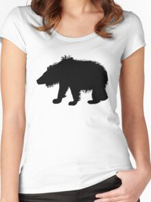 Sloth Bear Women's Fitted Scoop T-Shirt