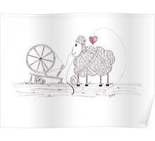 Tangled Spinner in the Flock Poster