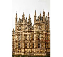 Details of the House of Parliament Photographic Print