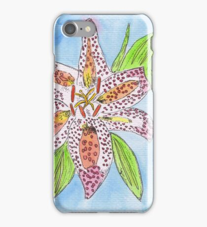 Star Gazer Lilly iPhone Case/Skin