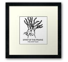 Spirit of the Prairie  Framed Print