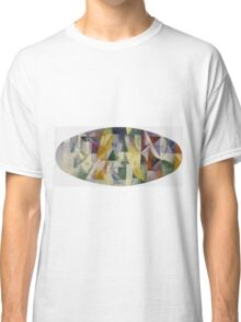 Robert Delaunay - Windows Open Simultaneously . Abstract painting: abstraction, geometric, expressionism, composition, lines, forms, creative fusion, music, kaleidoscope, illusion, fantasy future Classic T-Shirt