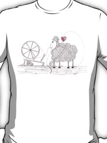 Tangled Spinner in the Flock T-Shirt