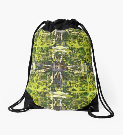 Forest Treetops Drawstring Bag