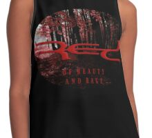 RED Of Beauty And Rage Contrast Tank