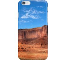 Three Sisters, Monument Valley, Arizona. iPhone Case/Skin
