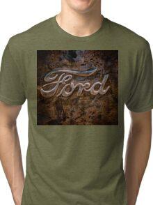 Ford Tailgate Tri-blend T-Shirt