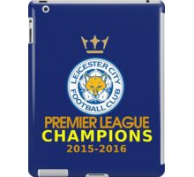 Premier League Champion Leicester City iPad Case/Skin