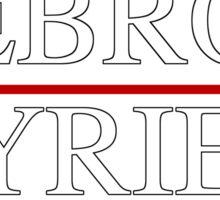 Lebron & Kyrie Sticker
