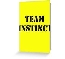 Pokemon Go -Team Instinct - Yellow Greeting Card