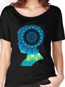 Cloud Kaleidiscope Women's Relaxed Fit T-Shirt