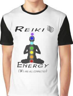 Reiki Engery Chakra Balance Graphic T-Shirt