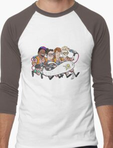 Ghostbusters: Atlantic Magazine Cover Men's Baseball ¾ T-Shirt