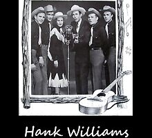 Hank Williams & The Drifitng Cowboy's by jerry2011