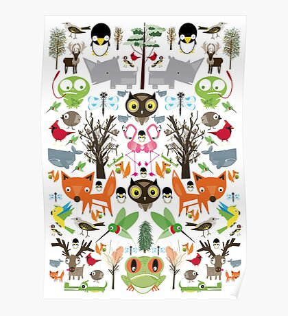 Mixed animal fun Poster