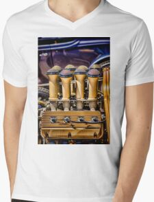 Golden 8 Mens V-Neck T-Shirt